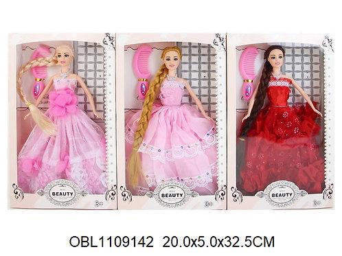 Купить игрушку кукла длинный волос 3 вида