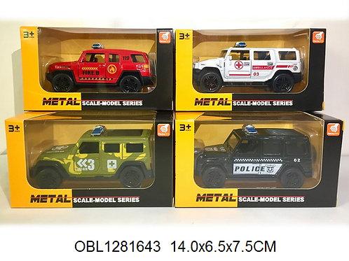 Купить игрушку машина металл. инерц. джип 4 вида