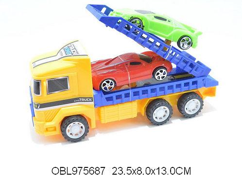 Купить игрушку перевозчик инерц. 3 цвета