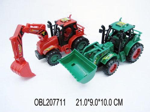 Купить игрушку трактор инерц. 2 цвета