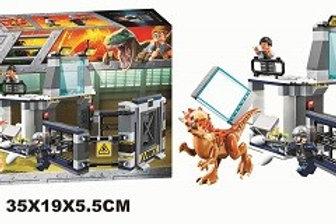 """Конструктор BELA 10922 Dinosaur World """"Побег Стигимолоха из лаборатории"""" 234 дет"""