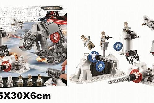"Конструктор Lari 11423 Star Wars ""Защита базы Эхо"" 534 дет. 45х30х6 см"