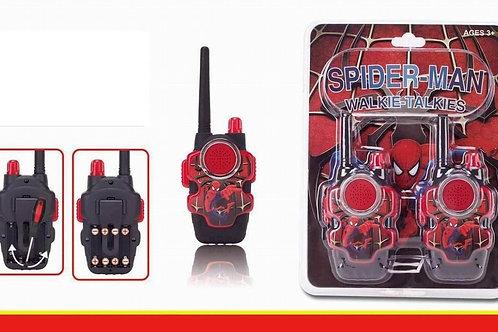 Рации Спайдермен 2шт в блистере на батарейках