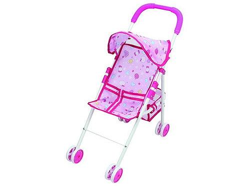 Детская складная коляска для кукол с козырьком