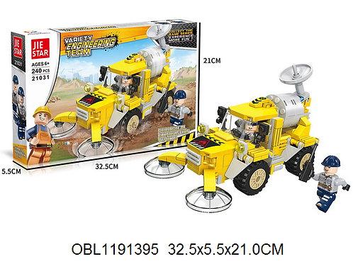 Купить игрушку конструктор JIE STAR стройка 240 дет.