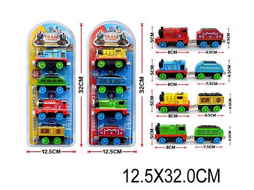 Игрушка детская:Паровоз с вагонами 2в