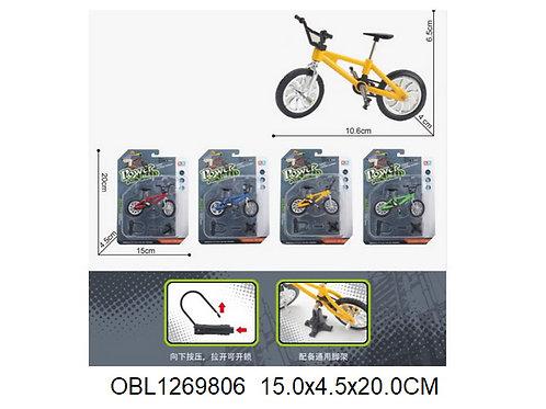 Купить игрушку велосипед металл. 4 цвета
