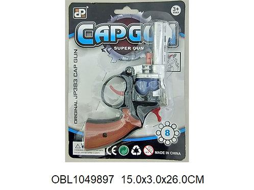 Купить игрушку револьвер для пистонов