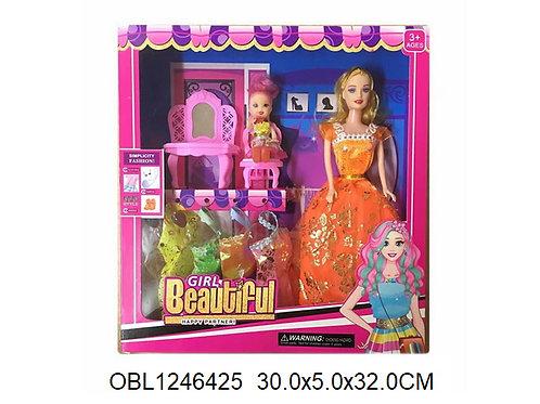 Купить игрушку кукла с платьями