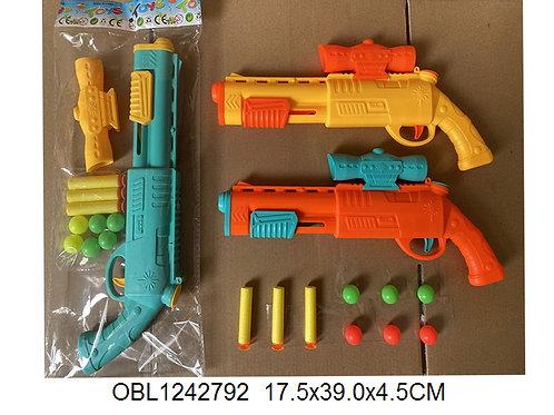 Купить игрушку пистолет EVA 3 цвета
