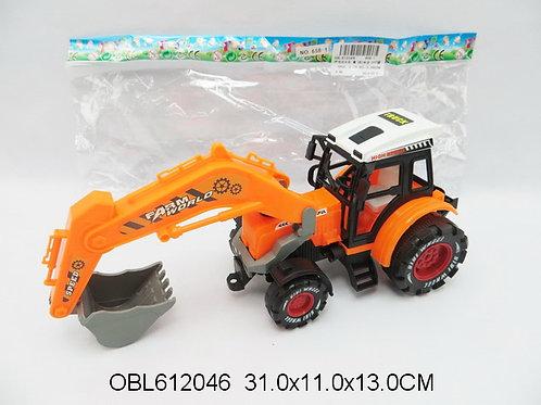Купить игрушку трактор инерц. 3 цвета
