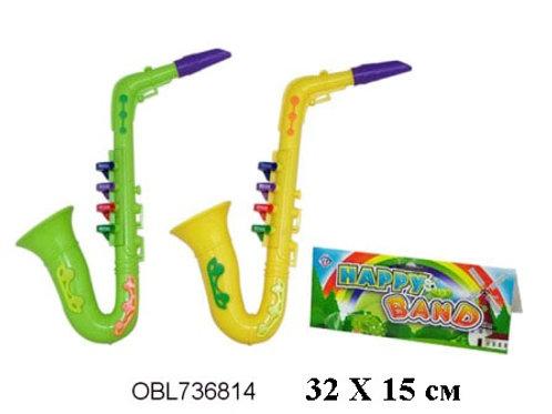 Купить игрушку саксофон 2 цвета