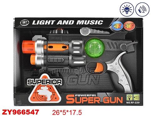 Купить игрушку пистолет на батарейках