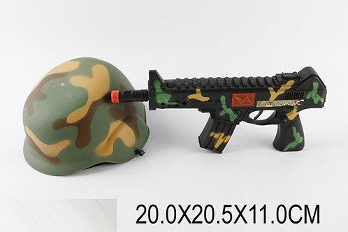 Игрушка детская:Оружие с каской