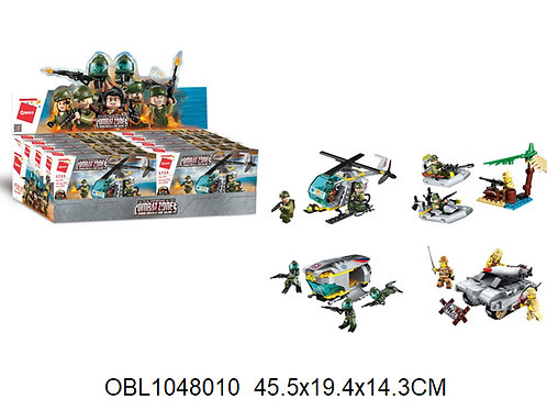 Купить игрушку конструктор брик армия 8 шт/коробка