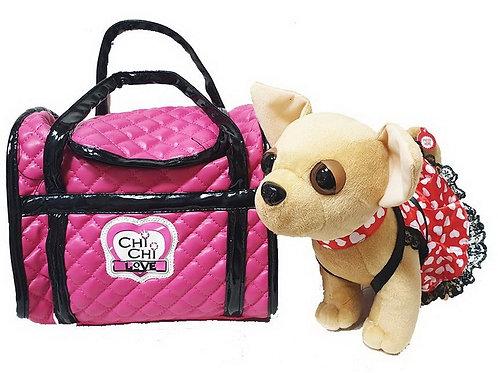 Собачки Чи Чи Лав с сумкой переноской, озвучена лает.