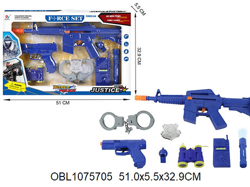 Купить игрушку полицейский набор акция скидка 50%