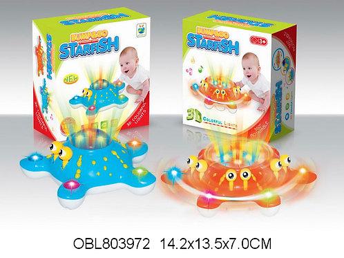 Купить игрушку осьминог на батарейках 3 цвета