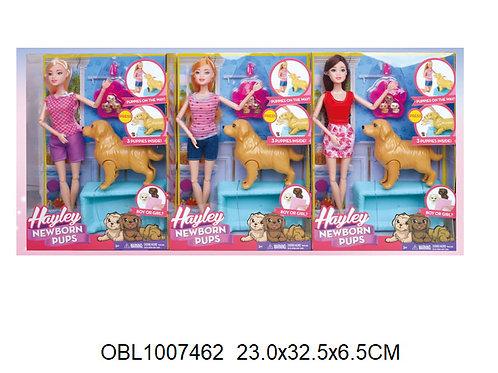 Купить игрушку кукла с беременной собакой и аксессуарами 3 вида