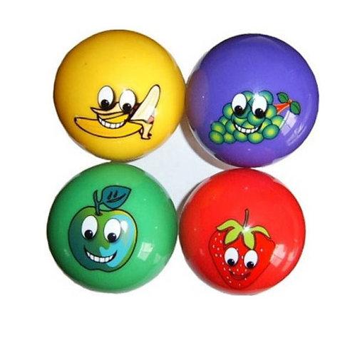 Купить игрушку мяч пластизоль 4 цвета 4 шт/сетка акция скидка 60%