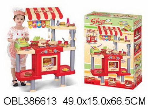 Купить игрушку кухня стойка