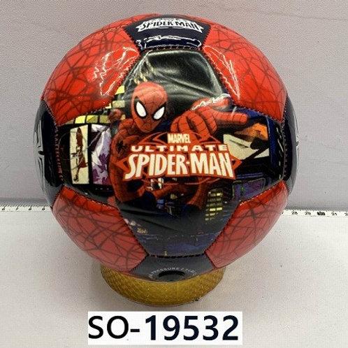 """Мяч футбольный """"Человек-Паук"""" для мини футбола"""
