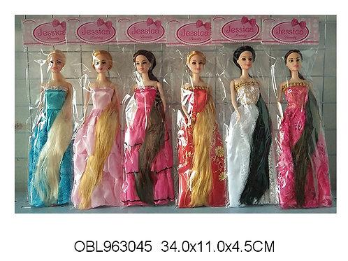 Купить игрушку кукла длинный волос 6 видов