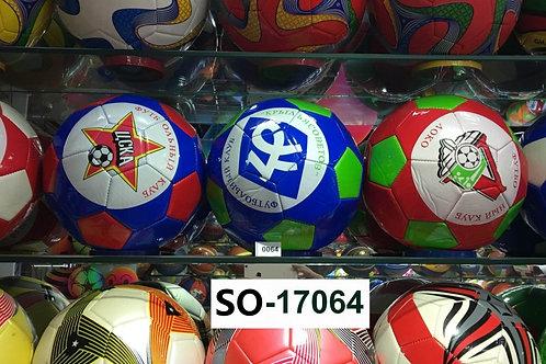 Мяч футбольный стандартный Российские клубы в ассортименте