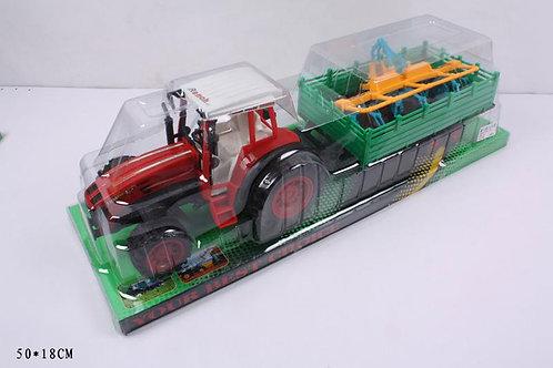 Игрушка детская:Трактор с прицепом