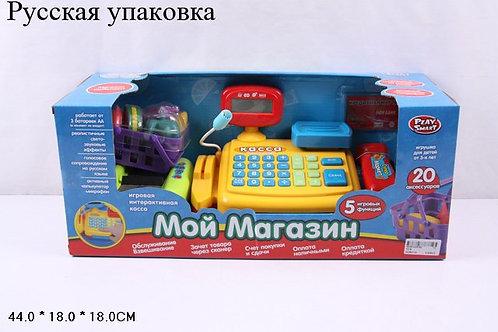 Купить игрушку касса магазина на батарейках