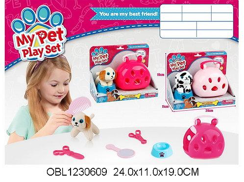 Купить игрушку животные в переноске 2 вида