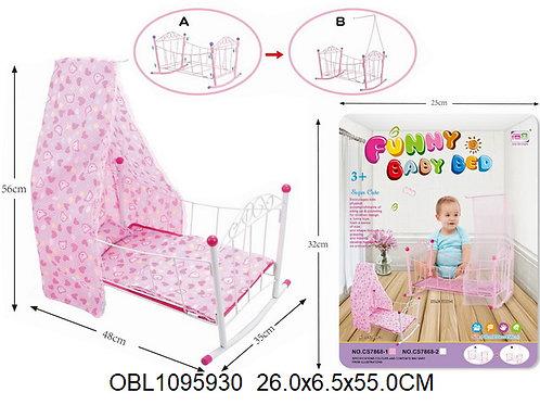 Купить игрушку кровать для куклы