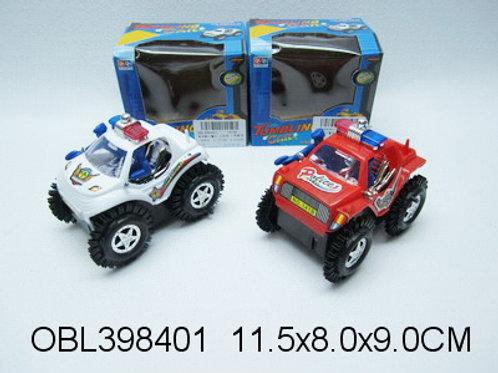 Купить игрушку машина на батарейках перевертыш 2 цвета