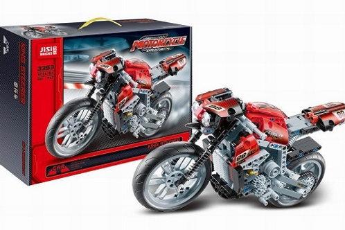 """Конструктор JISI 3353 """"Мотоцикл"""" 431 дет. в коробке 40.5х28х7 см"""