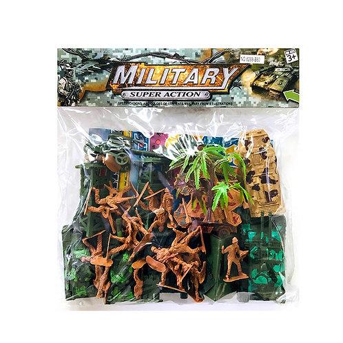 Игрушка детская:Набор солдатиков 32*25*7см
