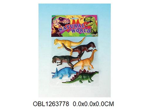 Купить игрушку динозавры 5 шт/пакет