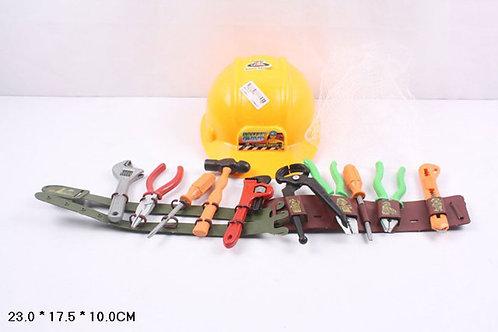 Игрушка детская:Набор инструментов+каска