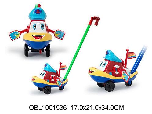 Купить игрушку каталка катер