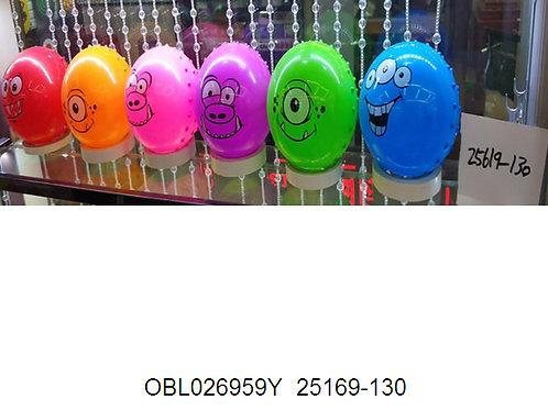 Купить игрушку мяч пластизоль 15 см 6 цветов