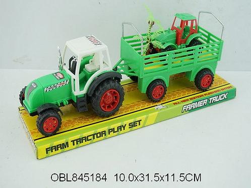 Купить игрушку трактор инерц. с прицепом