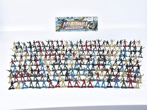 Игрушка детская:Набор солдатиков 25x20x7см