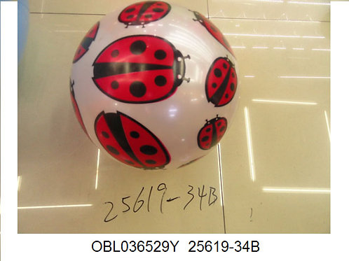 Купить игрушку мяч пластизоль 23 см (упаковано по 20 шт)
