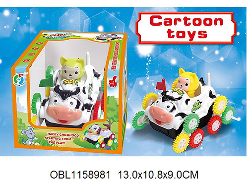 Купить игрушку машина на батарейках перевертыш