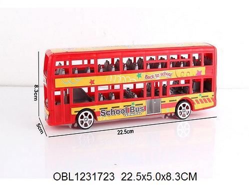 Купить игрушку автобус двухэтажный инерц.