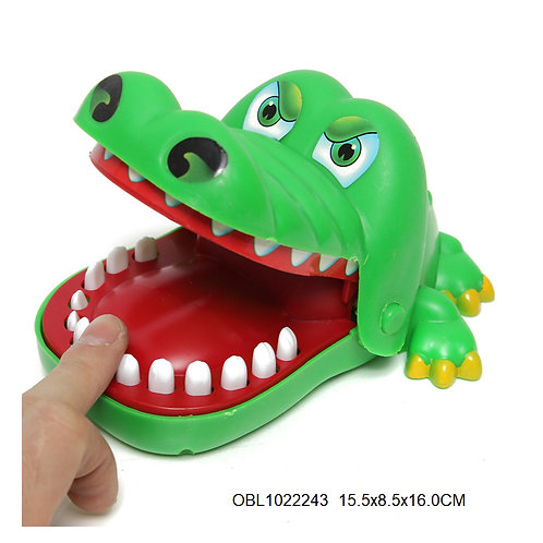 Купить игрушку крокодил кусака