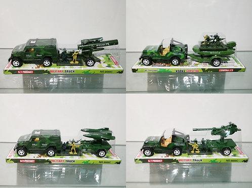 Купить игрушку машина инерц. военная набор 4 вида