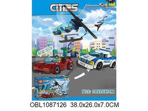 Купить игрушку конструктор JIE STAR полиция