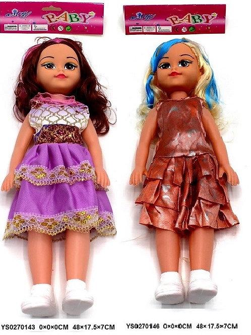 Кукла Синди  в платье 40 см в пакете