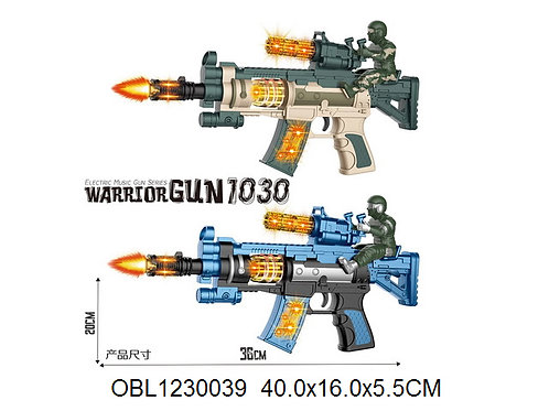Купить игрушку автомат на батарейках 2 цвета