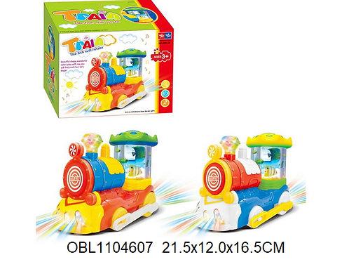 Купить игрушку паровоз на батарейках 2 цвета